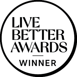 House Beautiful Live Better Awards Winner